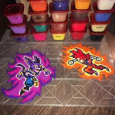 "405 Likes, 30 Comments - Tara | Perler & DBZ (@tarawashere88) on Instagram: ""Forgot to post this done. Still haven't ironed it... shocker. #dbz #drgaonballz #dragonball #goku…"""