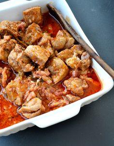 Spezzatino di maiale e pancetta