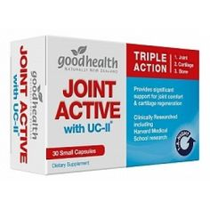 Good Health Joint Active with UC-II Small Capsules 30 @ Pharmacy Direct $21.99…