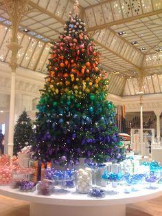 Multi colour tree
