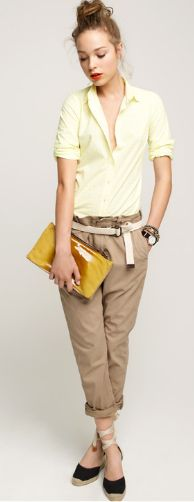 This J. Crew outfit makes me want an entire new preppy wardrobe.
