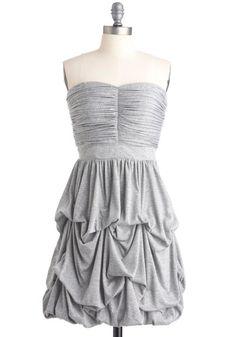 Cascades of Gray Dress