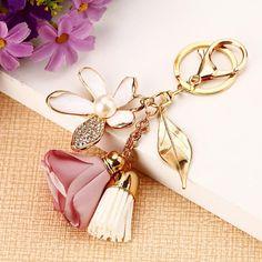 M-W Fashion Keychain Key Ring Key Hook Key holder Pack of 6 Varity of style