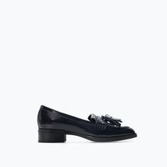 Image 1 of TASSELLED MOCCASIN from Zara