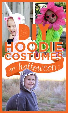 Here's how you can create an amazing DIY Halloween costume with just a hoodie Halloween Coatumes, Halloween Costumes You Can Make, Toddler Halloween, Toddler Costumes, Diy Costumes, Costume Ideas, Crab Costume, Kids Dress Up, Animal Costumes