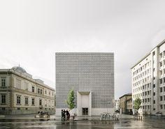 Museo de Bellas Artes / Barozzi Veiga. Image © Simon Menges