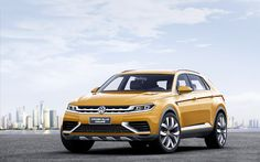 Volkswagen has tweaked the CrossBlue Coupe Concept for the 2013 LA Auto Show after its appearance at the Shanghai Auto Show earlier this year. The concept car itself is based on the CrossBlue . Shanghai, Crossover, Best Suv, Suv Models, Auto News, Gasoline Engine, Luxury Suv, Car Images, Chevrolet Chevelle