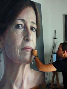 25 Beautiful and Realistic Pastel Paintings by Ruben Belloso | Read full article: http://webneel.com/pastel-painting | more http://webneel.com/paintings | Follow us www.pinterest.com/webneel