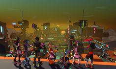 Hover: Revolt of Gamers Review: Jet Set Radio meets Mirrors Edge