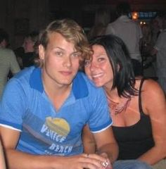 Young Sam and sister-in-law Vicki.