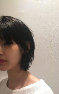 허쉬허쉬 베이비, 허쉬컷 : 네이버 블로그 Girl Short Hair, Short Hair Cuts, Hairstyles With Bangs, Cool Hairstyles, Haircuts, Medium Hair Styles, Curly Hair Styles, Korean Short Hair, Mullet Hairstyle
