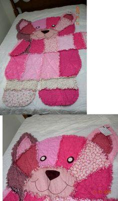 Free Printable Teddy Bear Rag Quilt Yahoo Image Search