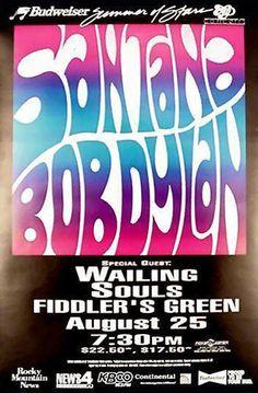 26- 08 25 1993 Bob Dylan Concert Poster