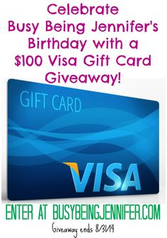 $100 visa giftcard...yes please! :)