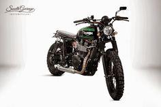 "Triumph ""Falstaff"" by South Garage Motorcycles"