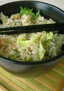 Salade de riz Thaï aux crevettes et à l'orange
