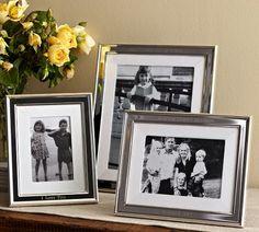 Grosgrain Silver-Plated Frames | Pottery Barn - 8x10 - 39$