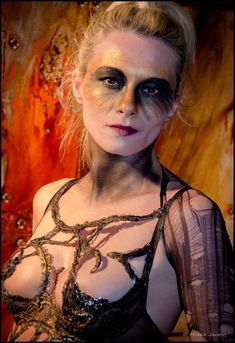 Halloween Face Makeup, People, People Illustration, Folk