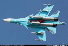 Russian Air Force Sukhoi Su-34 38 RED