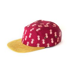 Currently inspired by: Pineapple Camp Cap Red on Fab.com