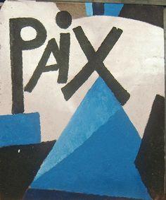 Paix et liberté, 2009 (verso) - Joan Gardy-Artigas
