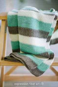 Be creative! We can set you up with the yarns and tools at Ceremonial Wool 509-529-5087.... Then you will how to knit a baby blanket...