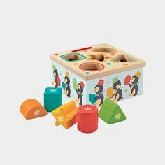 Djeco / Boîte à formes pingouins : 17.00€