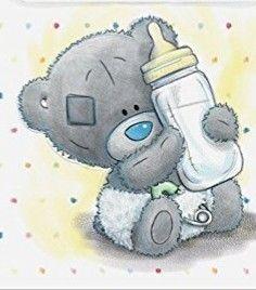 Tatty Teddy, Blue Nose Friends, Storch Baby, Baby Animals, Cute Animals, Baby Boy Scrapbook, Baby Clip Art, Card Drawing, Cute Teddy Bears