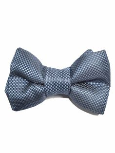 Silk Pre-tied Bow Tie - Striped pattern in navy blue - Notch HILDING Notch YIdBvv