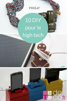 10 idées DIY pour ses appareils high tech // http://www.deco.fr/loisirs-creatifs/photos-81838/