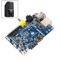 #ARM Cortex-A7 Dual-Core CPU Single Board Computer #BananaPi Wholesale: Great #miniPC & perfect little tool to experiment with your innovative GNU/Linux Open Source Software solutions or setup productivity services in your network.