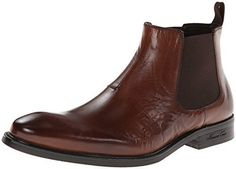Kenneth Cole New York Men's Legal Jar-Gon Leather Chelsea Boot,Cognac,9 M US - http://authenticboots.com/kenneth-cole-new-york-mens-legal-jar-gon-leather-chelsea-bootcognac9-m-us/
