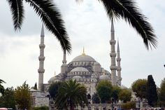 The Blue Mosque, Istanbul, Turkey,One of the finest example of Islamic Architecture.