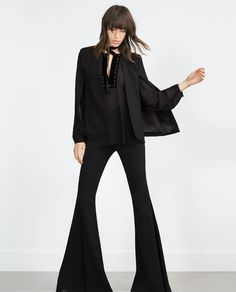 Image 1 of CAPE JACKET from Zara