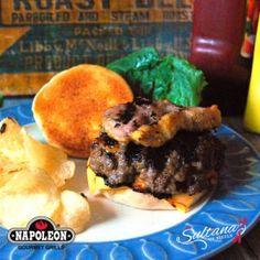Super Stuffed Burgers - Napoleon® Recipe Blog