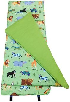 Wildkin Nap Mat - Olive Kids Wild Animals