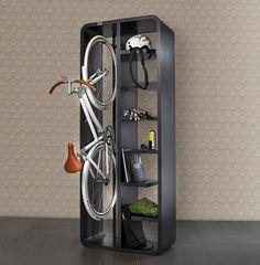 Garage Bike Storage Ideas Diy, Bike Rack Storage Ideas, Bike Storage Ideas for Small Garden Bike Storage Shelf, Indoor Bike Storage, Bicycle Storage, Office Storage, Diy Storage, Storage Ideas, Storage Room, Garage Storage, Bike Shelf