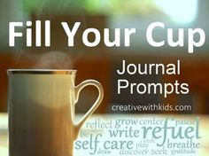 Fill Your Cup Journal Prompts