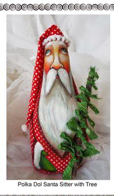 1000 Images About Santa Patterns On Pinterest Folk Art
