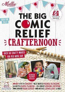 Mollie Makes: The Big Comic Relief Crafternoon 2017