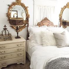 Creating Unique and Hand Painted Mirrors and Home Decor from French Shabby Cottage Chic to Elegant Home Furnishings