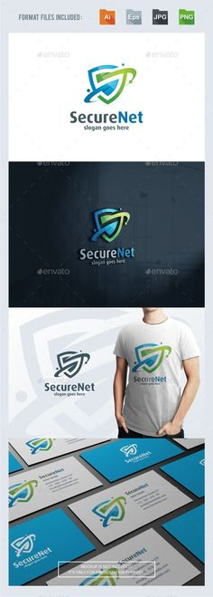 Secure Safe Network Logo Template — Transparent PNG #it #website • Available here → https://graphicriver.net/item/secure-safe-network-logo-template/17341214?ref=pxcr