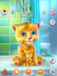 """Talking Pierre, Talking Tom 2, and Talking Ginger: These apps are FANTASTIC for getting quiet kids to talk and have fun doing so! You can also practice basic pragmatics by giving the child a scenarios (ex: """"asking another child to play"""") and prompting them to practice with the animal in the app. Then, they can reflect on how the question sounds when it's repeated back to them!"""