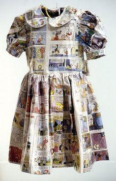 Comic Strip dress by Jane Lawrence
