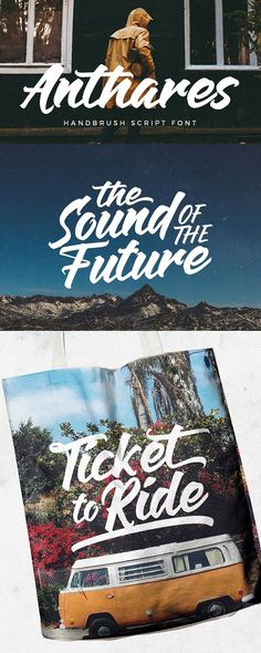 Anthares Free Script Font