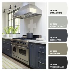 Paint colors by Sherwin-Williams