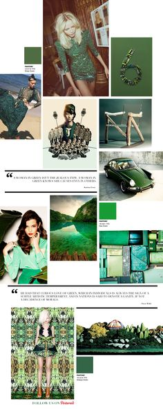 Curating the Curated: Green