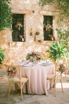 Boho Chic Inspired Wedding Sweetheart Table / styled shoot coordinated by Love 4 Wed / photo by Anna Roussos Photography