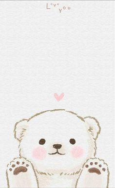 Cute Tumblr Wallpaper, Cute Disney Wallpaper, Kawaii Wallpaper, Cute Cartoon Wallpapers, Cute Animal Drawings, Kawaii Drawings, Cute Drawings, Cute Wallpaper Backgrounds, Wallpaper Iphone Cute