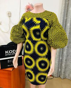 2020 African Dress: Ankara Styles – Naija's Daily 2020 Afric… - Gifted. Best African Dresses, Latest African Fashion Dresses, African Print Fashion, African Attire, Fashion Prints, Ankara Dress Designs, Ankara Mode, Ankara Short Gown Styles, African Ankara Styles